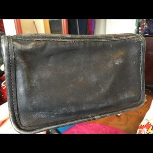 Vintage Coach leather pouch